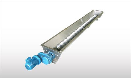 Stainless Steel Trough Screw Conveyors - CX
