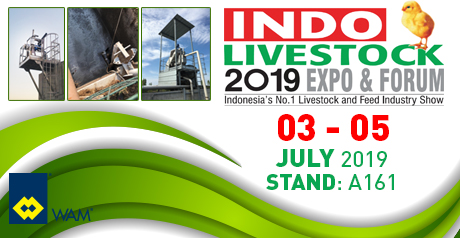 SEPCOM Screw-Press separators, Agitators and Pumps at INDO Livestock 2019